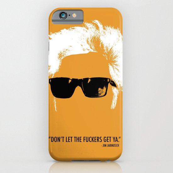 Jim Jarmusch Hair iPhone & iPod Case