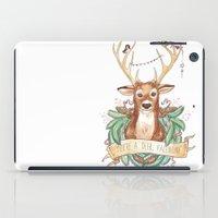 Deer Valentine iPad Case