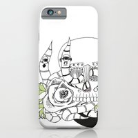 iPhone Cases featuring skull by Dagy-Style