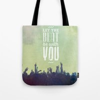 Let The Beat Tote Bag