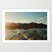 Doubtful Sound Art Print