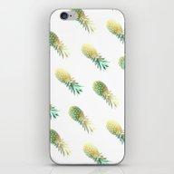 GoldenPineapple iPhone & iPod Skin