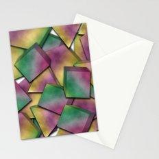 Shape Graffiti Stationery Cards