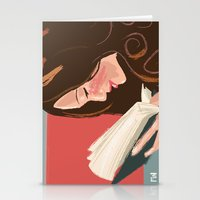 Favorite Book Stationery Cards