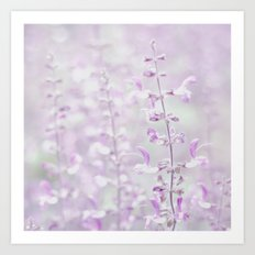 Purple dream Art Print