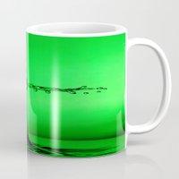green splash Mug