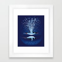 Flying the Dream Framed Art Print