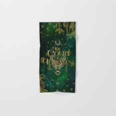 The Court of Terrasen  Hand & Bath Towel