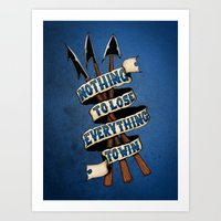 Nothing To Lose Art Print