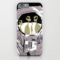 iPhone & iPod Case featuring Meet Buzz Aldrin by giorgio fratini