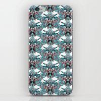 folk rooster iPhone & iPod Skin
