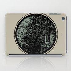 Miniature Circle Landscape 1: Morning Vision iPad Case