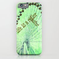 Life is a roller coaster iPhone 6 Slim Case