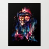 Canvas Print featuring All Of Time And Space by Alice X. Zhang