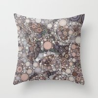:: Gray Sky Morning :: Throw Pillow