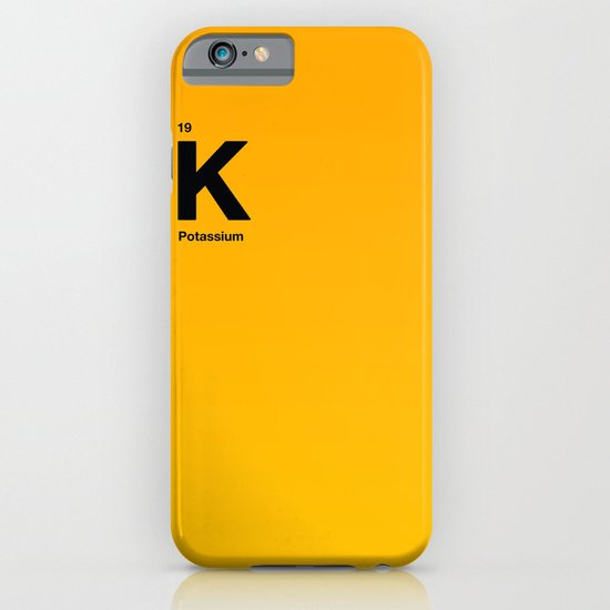 Potassium iPhone & iPod Case
