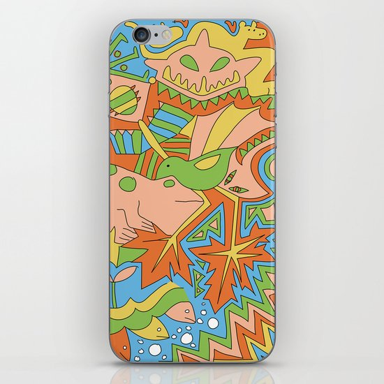 Abstract Animals iPhone & iPod Skin