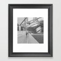 #chicago Framed Art Print
