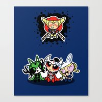 Asgard Puff Canvas Print