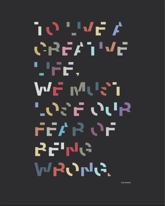 Creative Life. Art Print