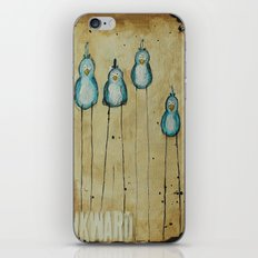 Awkward Birds iPhone & iPod Skin