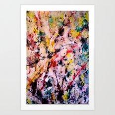 Below Art Print