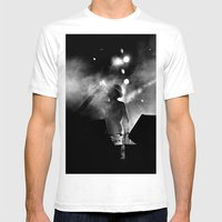 Night Thirst Mens Fitted Tee White SMALL