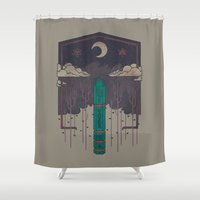 The Lost Obelisk Shower Curtain
