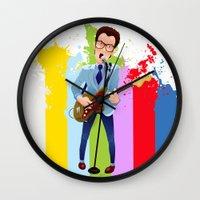 Elvis (Costello) Lives! Wall Clock