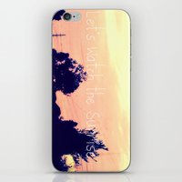 Let's Watch The Sunrise iPhone & iPod Skin