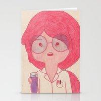 Sciency Bubblegum! Stationery Cards