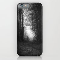 iPhone & iPod Case featuring In the deep dark forest... by Anna Brunk