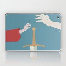 The Sword in the Stone - Walt Disney Minimal Movie Poster Laptop & iPad Skin