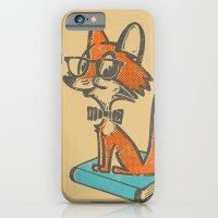 Fox Librarian - A Well Read Fox iPhone 6 Slim Case