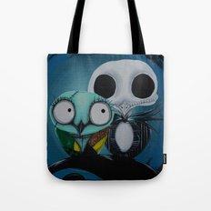 The Owl Jack And Sally Tote Bag