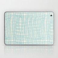 Blue Scribbles 06 Laptop & iPad Skin