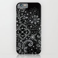B&W Lace iPhone 6 Slim Case