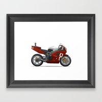 Honda Fireblade Framed Art Print