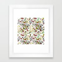 Jardin Framed Art Print
