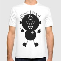 S6 Tee 6 by dabnotu Mens Fitted Tee White SMALL