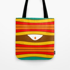 Eye Wave Tote Bag