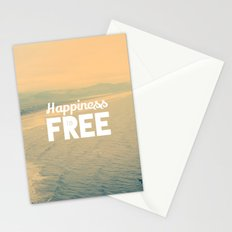 Happiness is Free. Stationery Cards