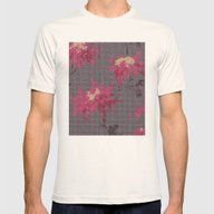 *Cross Stitch* Mens Fitted Tee Natural SMALL