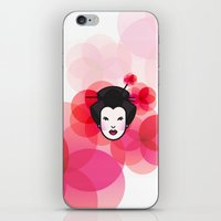 Geisha Icon iPhone & iPod Skin