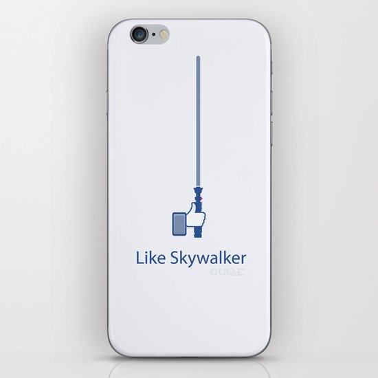 Coupling Up (accouplés) Like Skywalker iPhone & iPod Skin