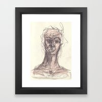 Ghoul #1 Framed Art Print