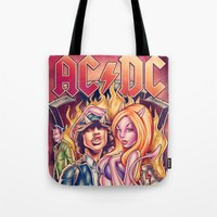 Highway to ACDC Tote Bag