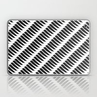 Black And White Tiger St… Laptop & iPad Skin