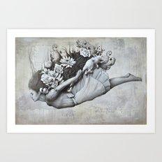Le jardin d'Alice Art Print