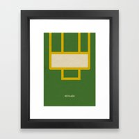 Kick-Ass Framed Art Print